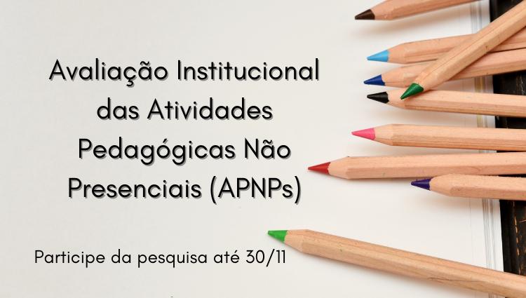 Estudantes, professores e técnicos administrativos devem responder o questionário até 30/11